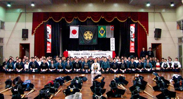 Grandes Mestres 2009, Baba Sensei - Kendo, Kenjutsu