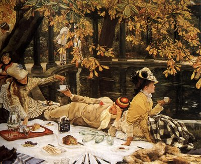 O Piquenique, de James Tissot