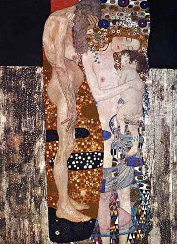 Gustav Klimt - The Three Ages of Woman (1905)