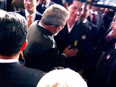 Sensei recebe Homenagem do Presidente Lula