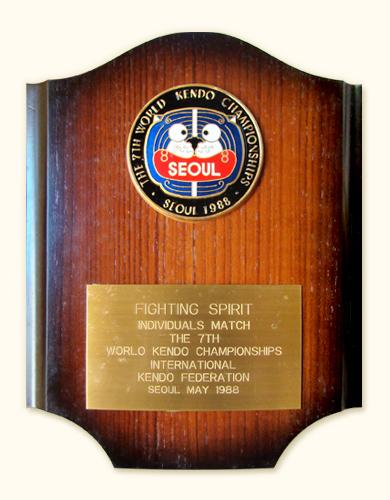 Prêmio de Honra ao Mérito de 1988 em Seul, Fighting Spirit