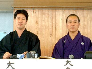 Sensei y Master Baba - día de la 2009 Samurai