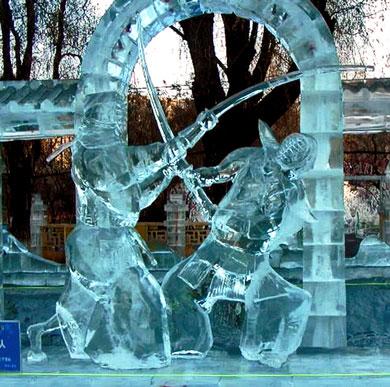 Samurais de Gelo
