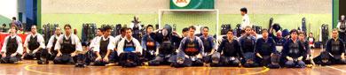 alunos que participaram do gashuku