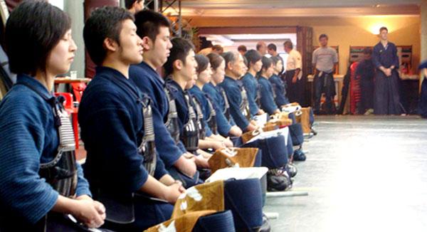 Grandes Mestres 2009, Comitiva Japonesa - Kendo, Kenjutsu