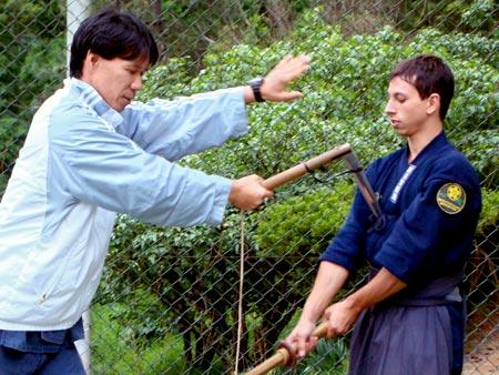treinamento de kusarigama