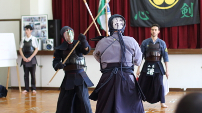 Final naginata combate