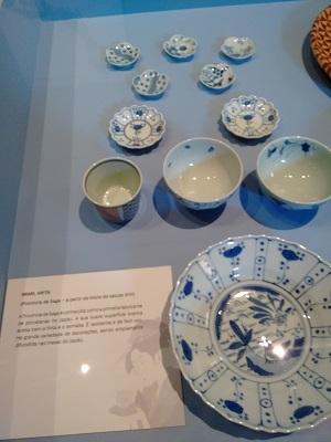 Cerâmica da Região de Saga, a província dos antepassados do Sensei.