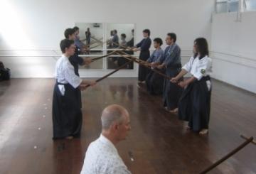 apresentação de Niten Ichi Ryu - estilo criado por Myamoto Musashi